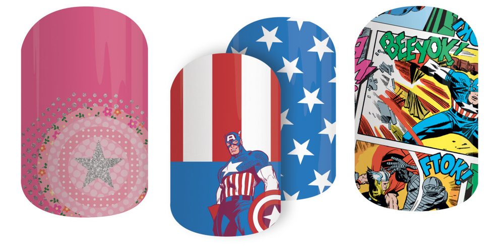 Jamberry Unveils New Marvel Collection