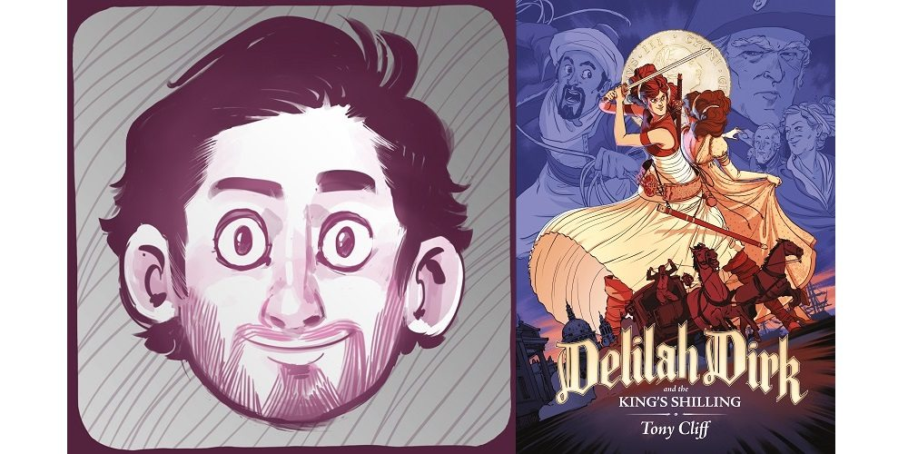 Q&A: Tony Cliff & His Swashbuckling Adventurer, Delilah Dirk