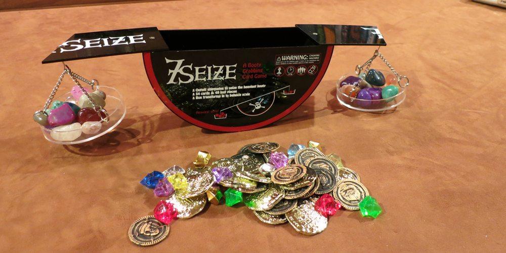 Kickstarter Alert: '7 Seize': A Booty Grabbing Card Game
