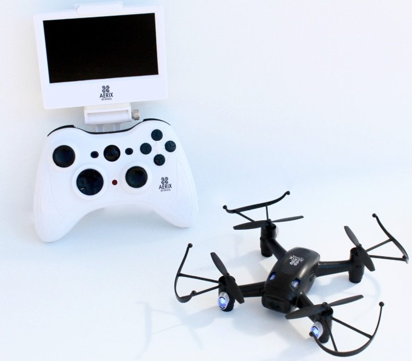 Black Talon drone has controller with screen