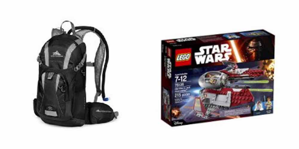 Save on Hydration Backpacks, LEGO 'Star Wars' Kits With Today's Daily Deals