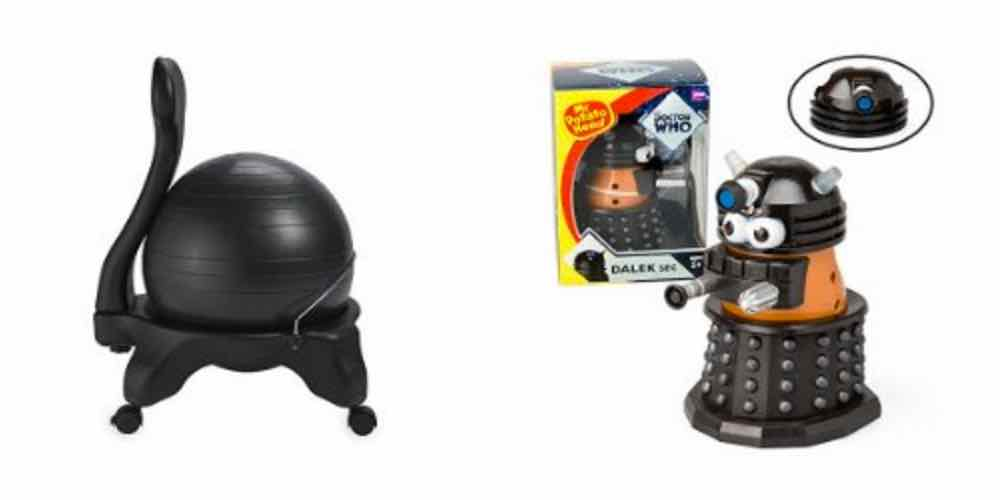 Save Big on Rolling Ball Chairs, Dalek Mr. Potato Head – Daily Deals!