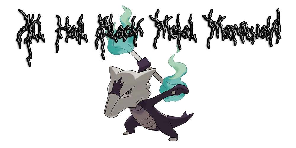 Black Metal Marowak