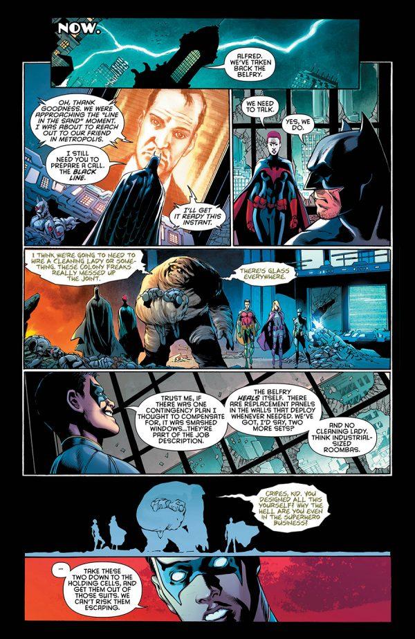 Panel from Detective Comics #939 copyright DC Comics