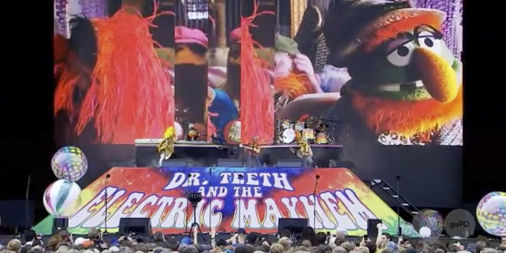 Watch Dr. Teeth & The Electric Mayhem Make Their Live Debut