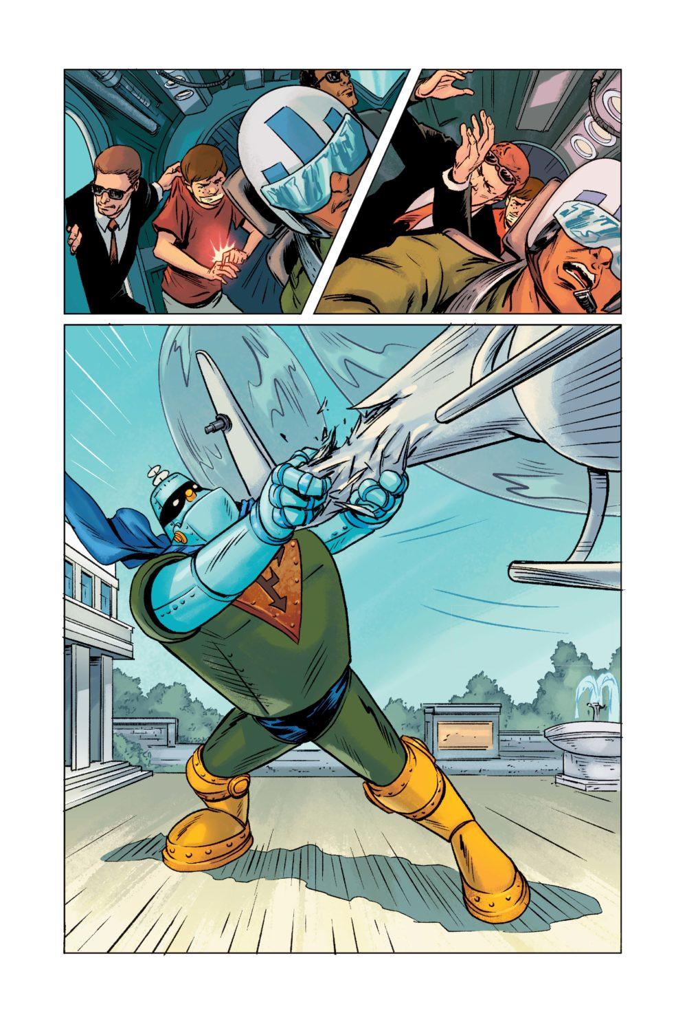 Frankenstein Jr at bat! Source: