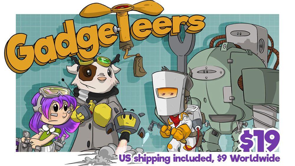 Kickstarter Tabletop Alert: 'Gadgeteers'