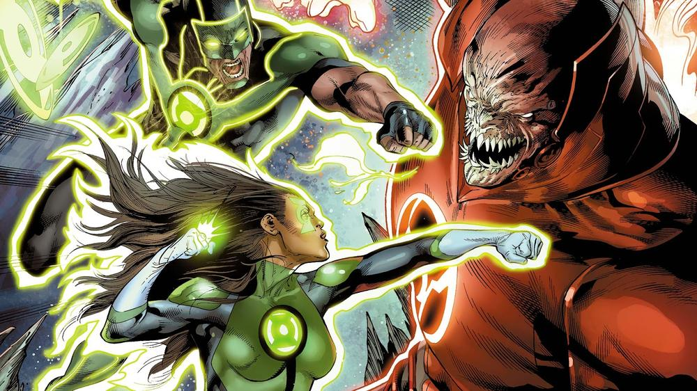 'Green Lanterns': Sam Humphries on Jessica Cruz & Simon Baz