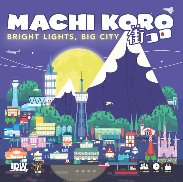 Machi Koro Bright Lights Big City cover