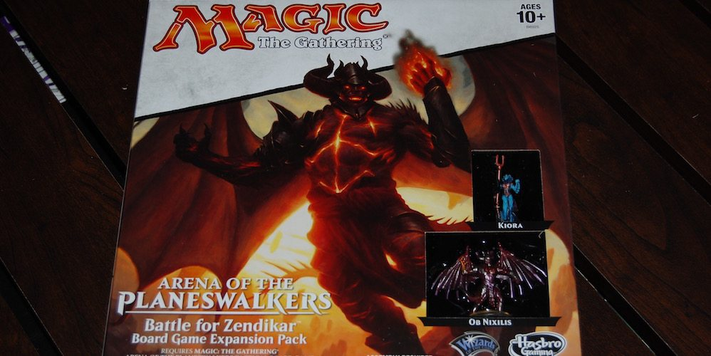 Magic: The Gathering, Arena of the Planeswalkers Zendikar Expansion