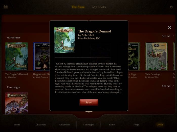 Dragon's Demand