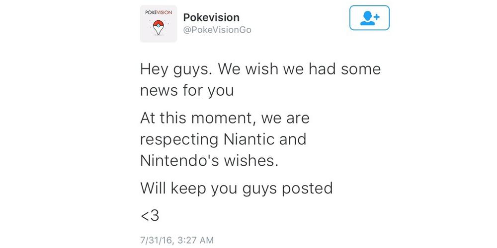 PokeVision Respectful