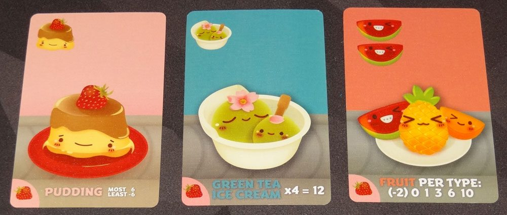 Sushi Go Party desserts
