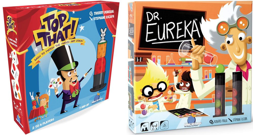 Think Fast: 'Top That!' and 'Dr. Eureka'