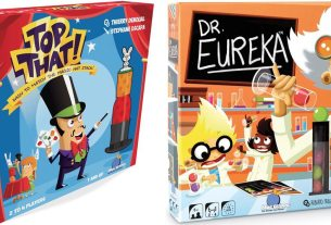 Top That! and Dr. Eureka