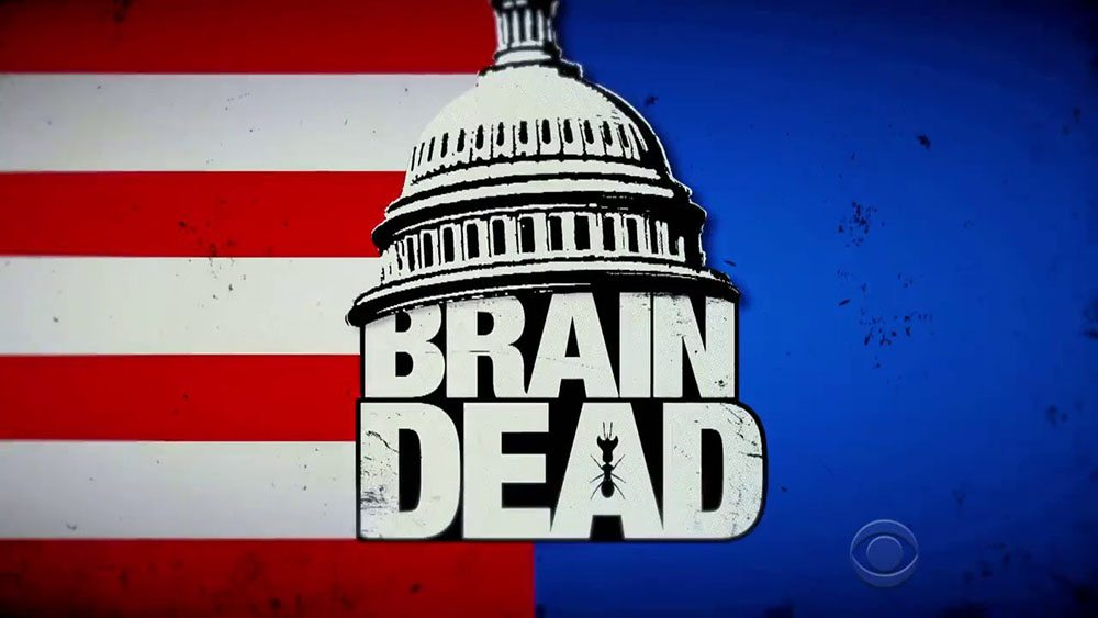 Brain Dead TV Show Logo