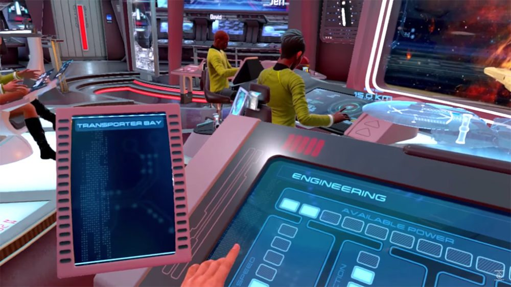 Find your place on the bridge of a Starfleet ship. Image: Star Trek Bridge Crew Trailer