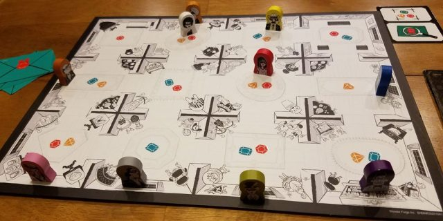 Suspicion game
