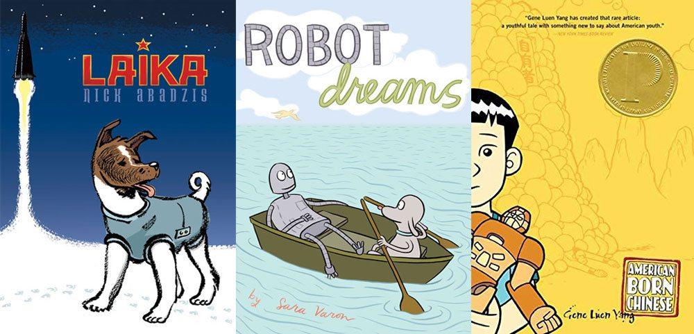 Laika, Robot Dreams, American Born Chinese