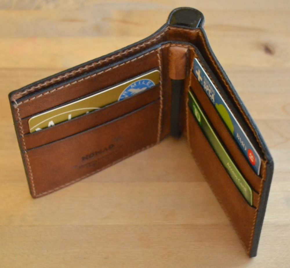 Nomad Horween Leather Charging Wallet