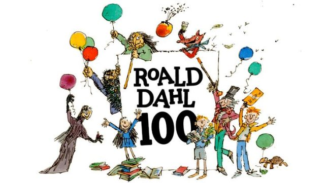 Author Roald Dahl, the creator of Willy Wonka, The BFG and many other favorite characters, would have been 100 on Sept. 13, 2016. Image: Puffin Books.