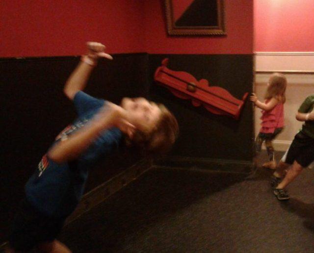 Gravity Room, Childrens Museum of Pittsburgh