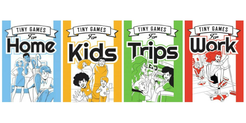 Big Fun With 'Tiny Games' Books