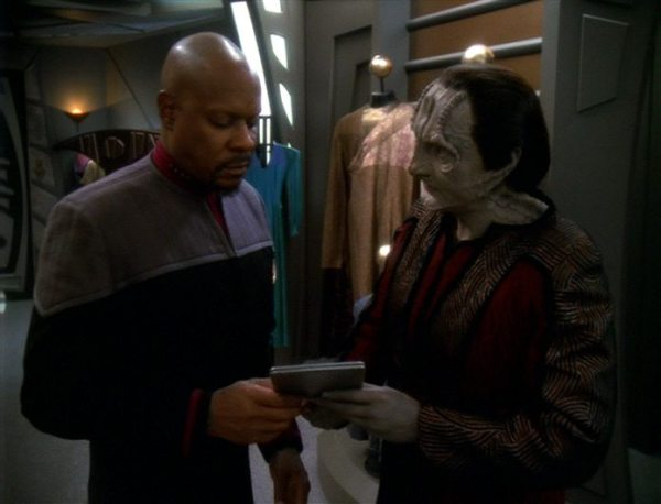 screen cap from DS9: In the Pale Moonlight