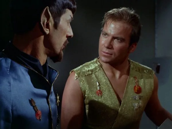 screen cap of Star Trek: Mirror, Mirror