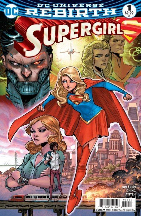Supergirl #1 cover, image via DC Comics