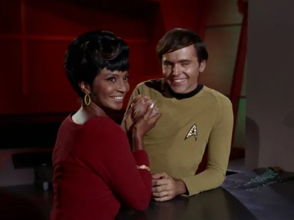 screen cap of Star Trek: The Trouble With Tribbles