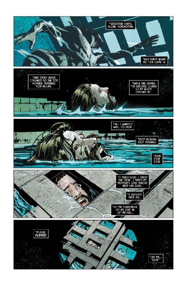 Bane struggles to survive in Batman #9. Image via DC Comics