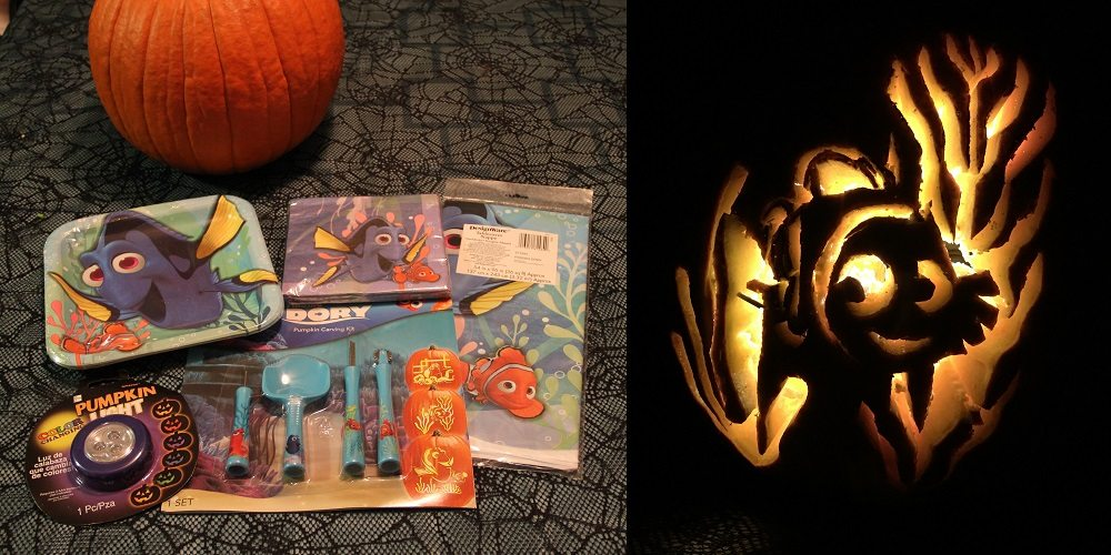 Pumpkinspiration with 'Finding Dory' in 10 Simple (Soul-Crushing) Steps