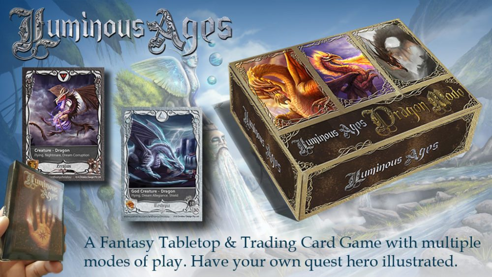 Kickstarter Tabletop Alert: 'Luminous Ages'