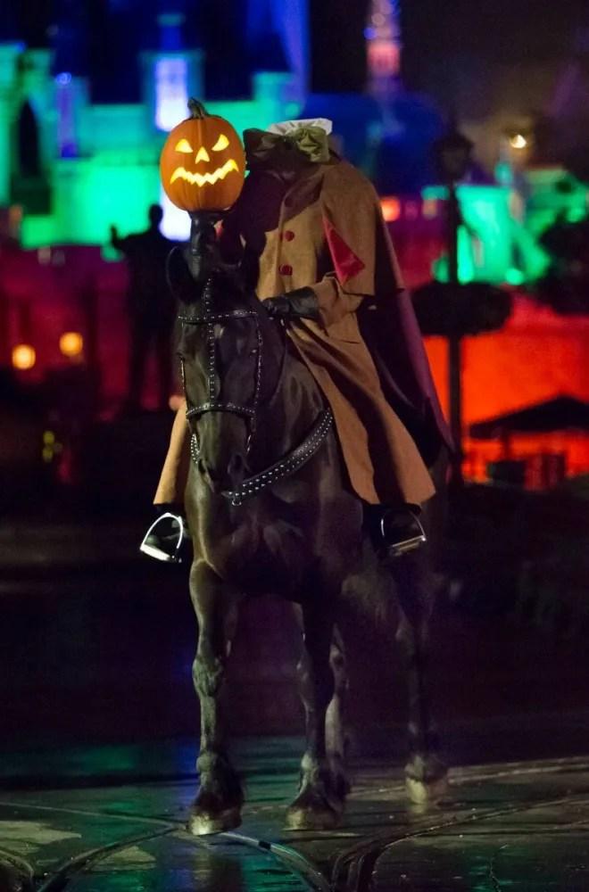 Headless Horseman Disneyland Halloween