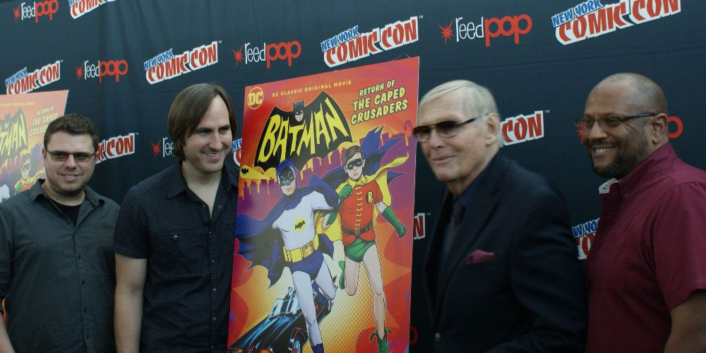 Batman's Adam West, James Tucker, & Rick Morales at NYCC