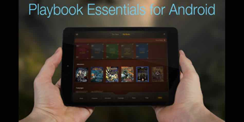 Kickstarter Alert: 'Pathfinder' 'Playbook Essentials' for Android