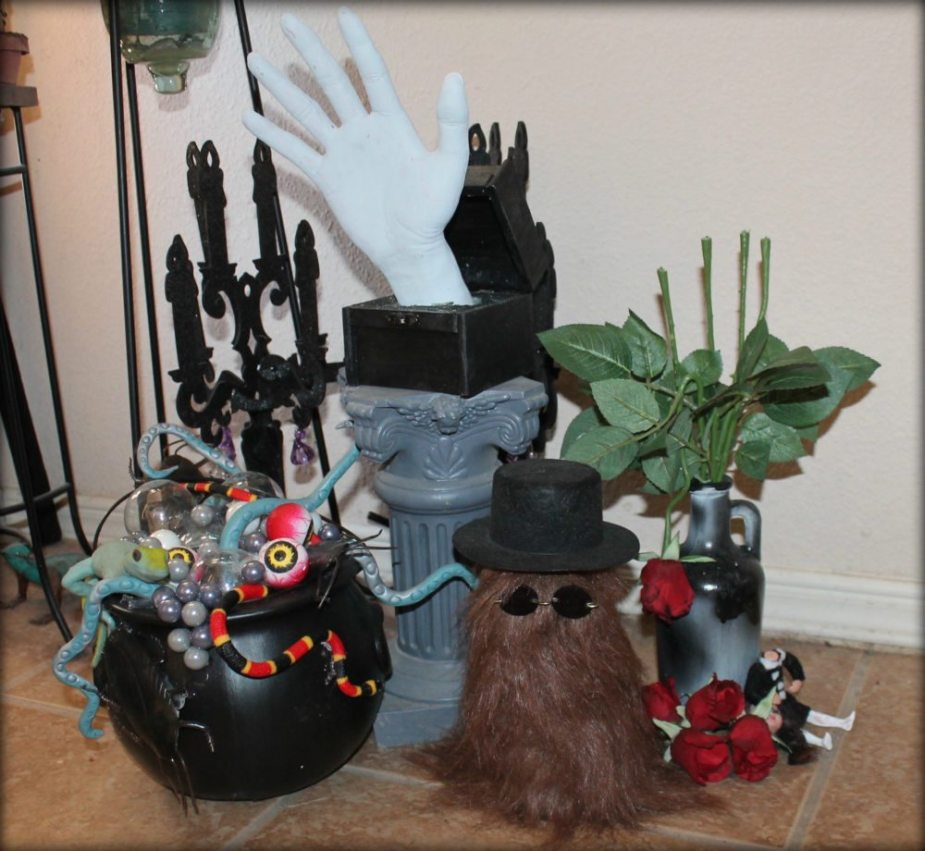 Addams Family Halloween Party.Brighten The Crypt With Addams Family Inspired Decorating Geekmom