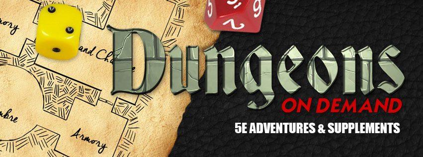 Dungeons on Demand header