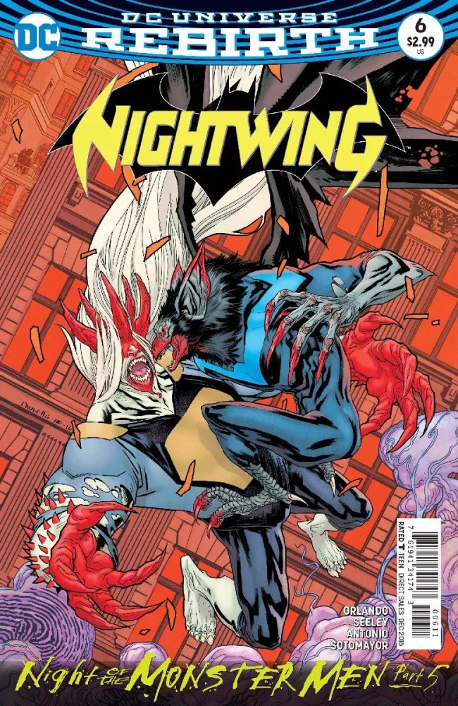 Nightwing #6 cover, image copyright DC Comics