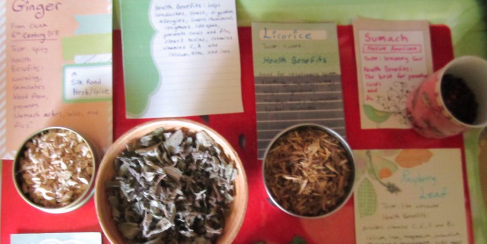 DIY Tea Blends With Kids