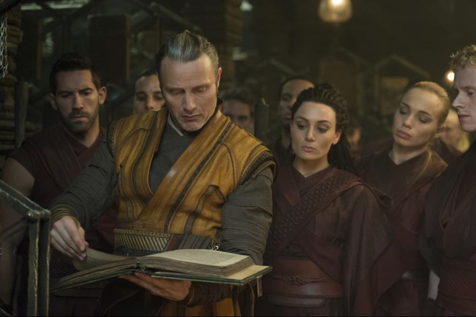 Kaecilius (Mads Mikkelsen) searches for the secrets of the universe. Image © Disney