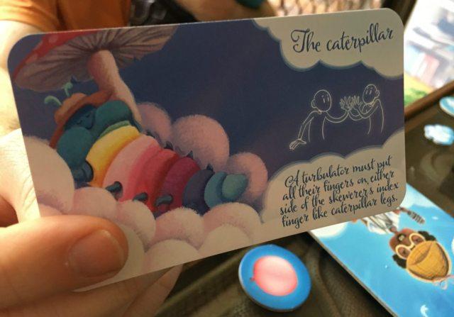 Turbulator Dare Card