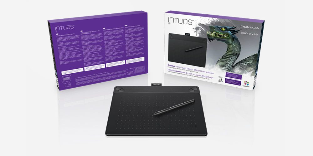 Get Creative in 3D With the Intuos 3D