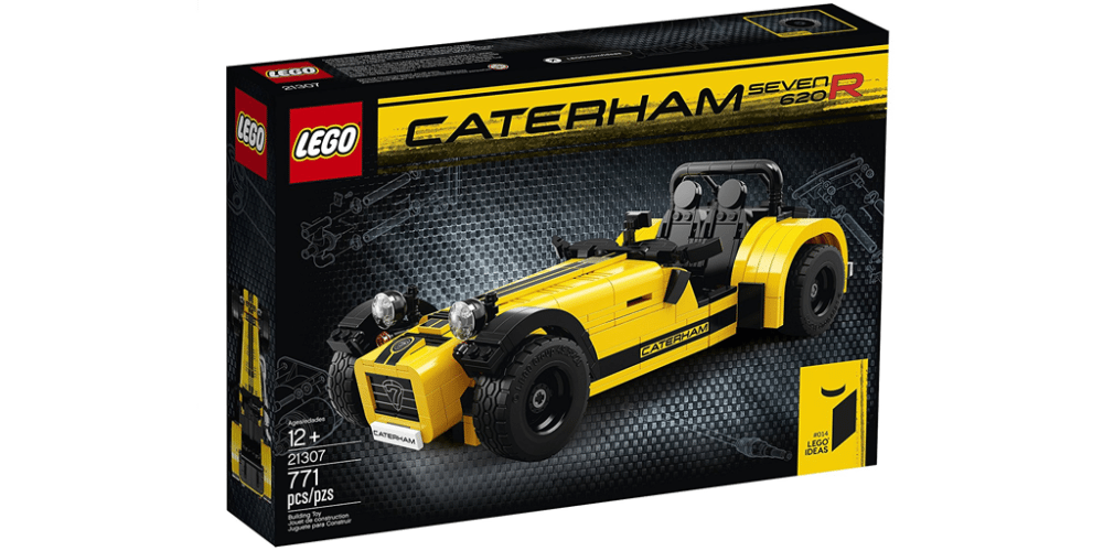Drive Home the Petrolhead Love With the LEGO Caterham Seven 620r