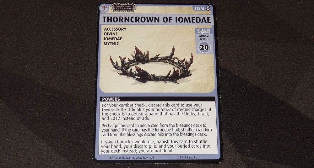 PACG Thorncrown of Iomedae