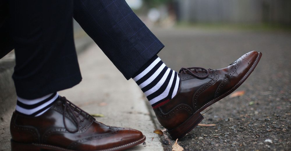 Kickstarter Alert: Get Yourself Some Swanky Socks and Help Those in Need
