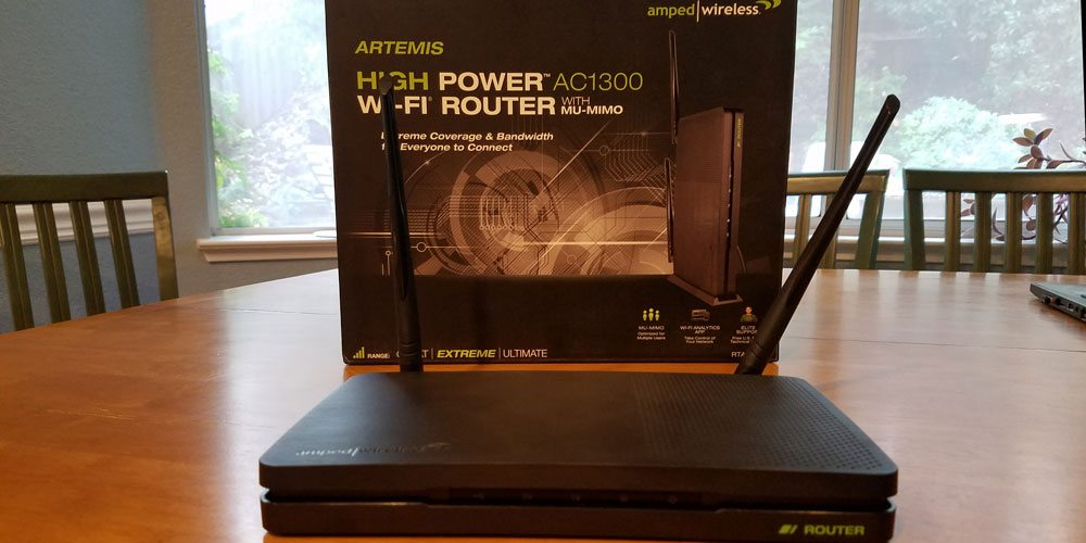 Amped Wireless Artemis AC1300 Router