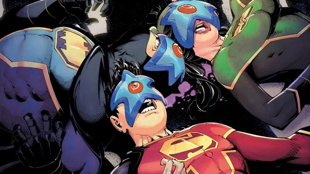There's an unexpected villain. Image copyright DC Comics