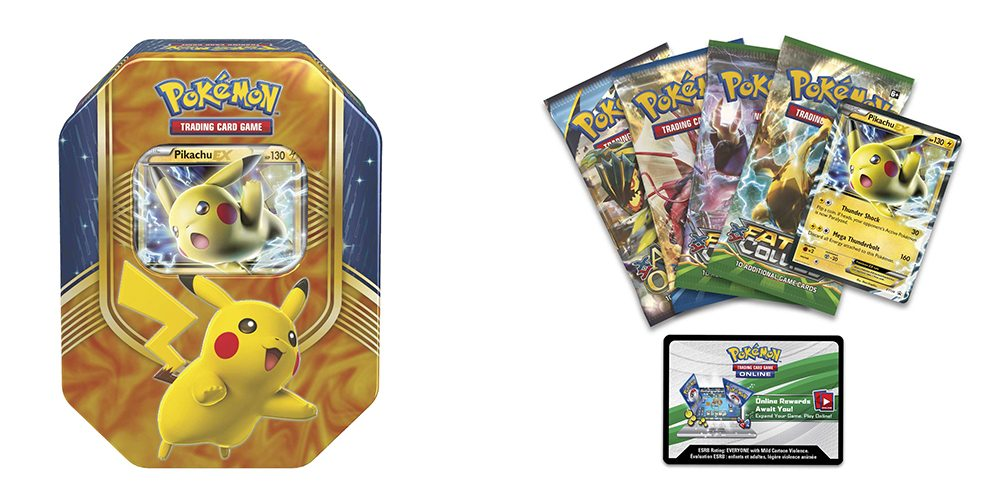 My Battle Heart Will Go on With the 'Pokémon TCG' Pikachu-EX Tin